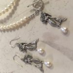Mermaid Silver and Pearl Jewelry
