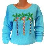 Wacky Palm-Turquoise
