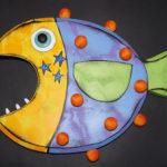 """Fish-42 13"""" x 15"""""""