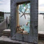 Sea Glass Window with Starfish